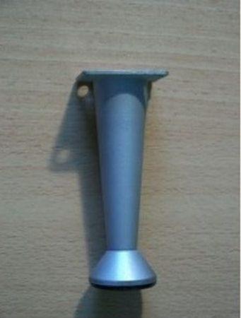 10cm-es fém alu bútorláb