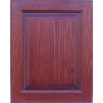 Modern fenyő tömör fa ajtó