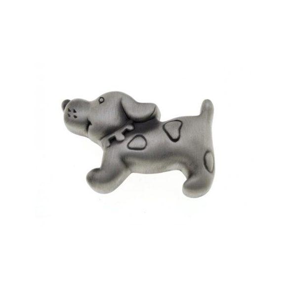 Kutya antikolt ezüst fogantyú