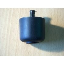44mm-es műanyag fekete szintezőláb