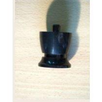 5cm-es műanyag fekete bútorláb