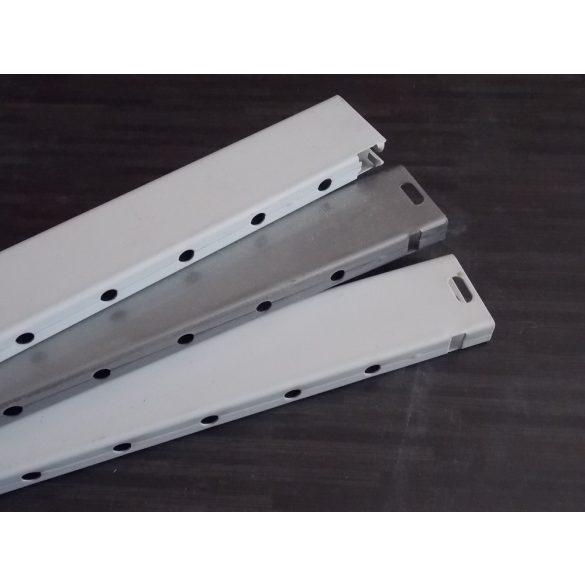 Fiókmagasító korlátrúd 440/435 metall RAL 9006