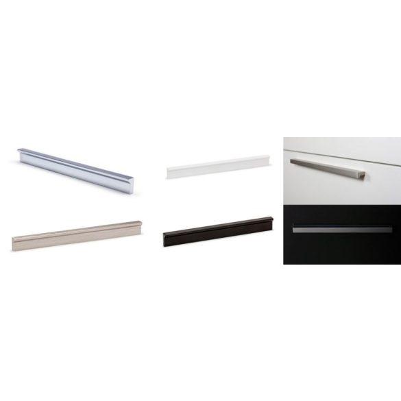 ANGLE - H= 200mm fogantyú fényes króm-szálcsiszolt-matt fehér-matt fekete (128-160mm)