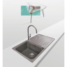 Granitek, metaltek mosogatótálcák