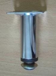 10cm-es fém króm bútorláb